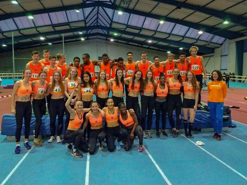 Nederlands jeugdteam (U17) in Munster