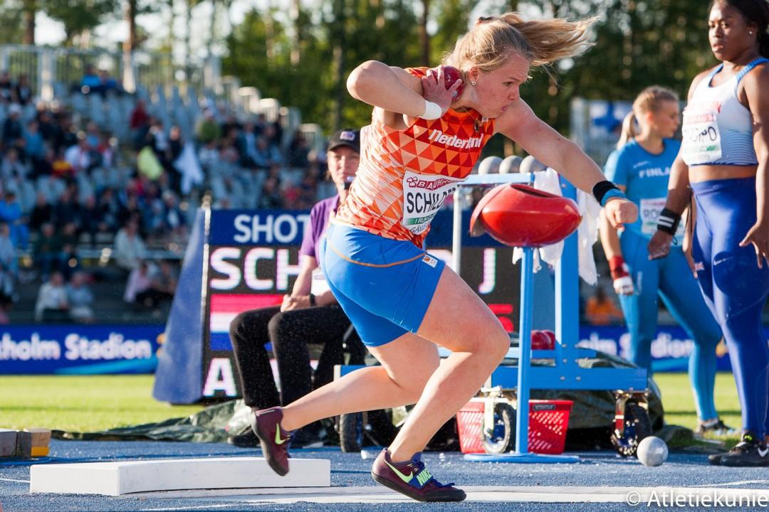 Jessica Schilder in actie op EK U23. Foto: © Atletiekunie