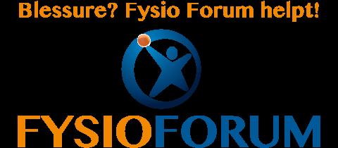 Hoofdsponsor FysioForum